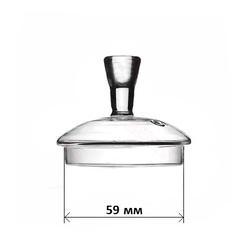 Стеклянная крышка для чайника 59 мм #2