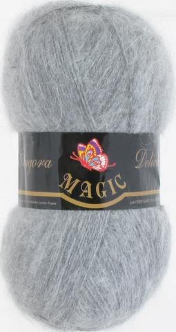 Пряжа Angora Delicate Magic 1129 Серый меланж - купить в интернет-магазине недорого klubokshop.ru