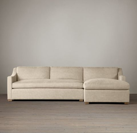 Belgian Classic Slope Arm Right-Arm Sofa Chaise Sectional
