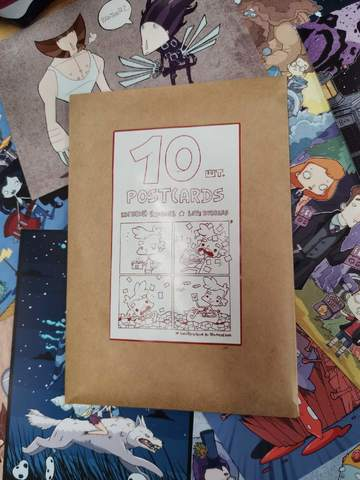 Набор открыток Евгения Яковлева (10 штук)