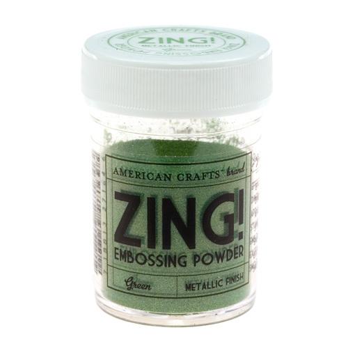 Пудра для эмбоссинга ZING! Metallic Green