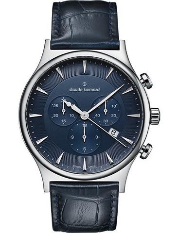 Купить мужские наручные часы Claude Bernard 10217 3 BUIN1 по доступной цене