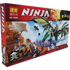 Конструктор Ниндзяго Большой зелёный дракон — Ninjago
