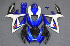 Комплект пластика для мотоцикла Suzuki GSX-R600/750 06-07 Сине-Белый