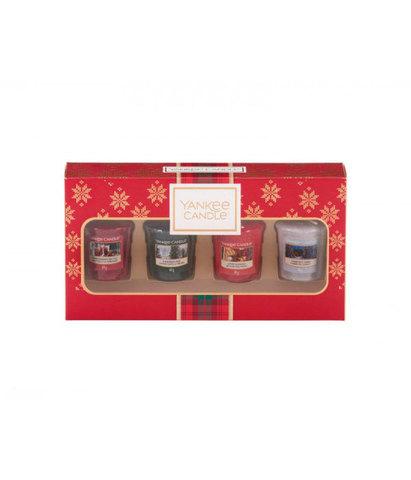 Подарочный набор 4 вотива Рождество в Альпах, Yankee Candle
