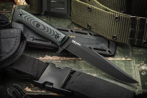Тактический нож Intruder D2 Black Titanium