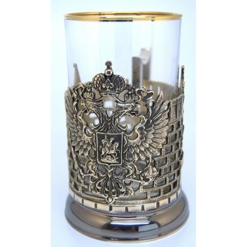 Подстаканник Герб (Башни Кремля)