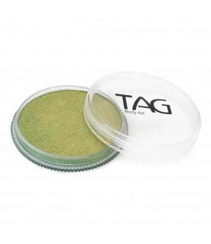 Аквагрим TAG 32гр перламутровый зеленая бронза