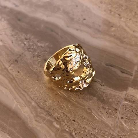 Кольцо Биара, позолота