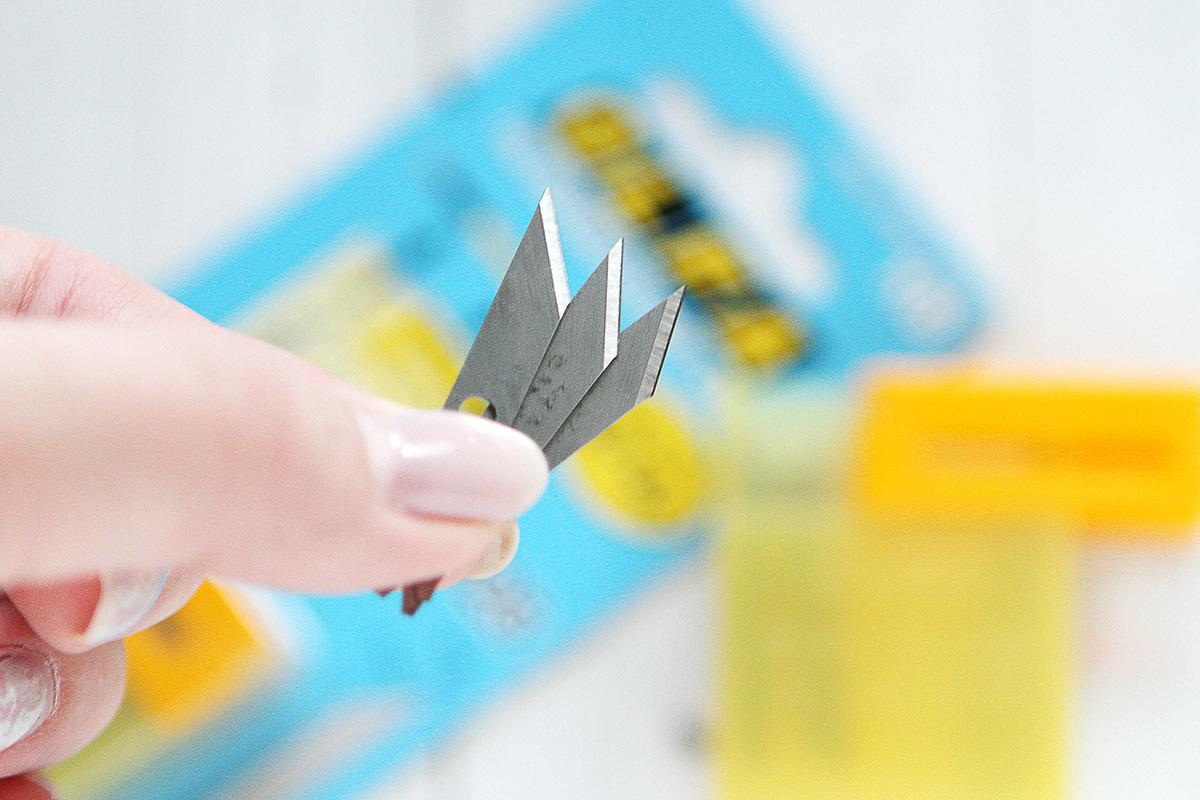 Лезвия для ножа OLFA 25 шт