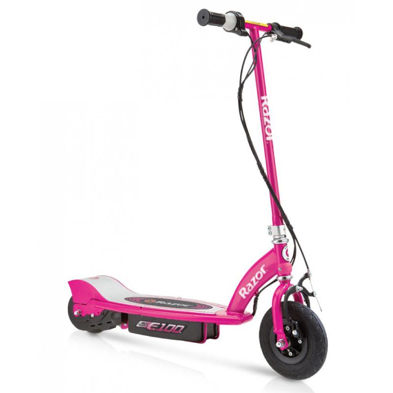 Электросамокат детский Razor E100 розовый - Электросамокат детский, артикул: 719963