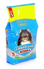 Наполнитель для кошек, Сибирская Кошка, Эффект 5л