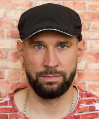 Кепка Ростовская чёрная матовая  «Ночной дозор»