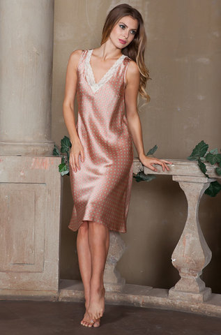 Сорочка женская натуральный шелк MIA-MIA  Agata АГАТА  15125