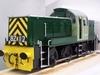 Garden Rail Тепловоз класса 14 Teddy Bear- PH на колею 12,7 и 17,8 см, электрический