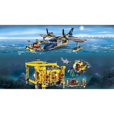 LEGO City: Глубоководная исследовательская база 60096 — Deep Sea Explorers — Лего Сити Город