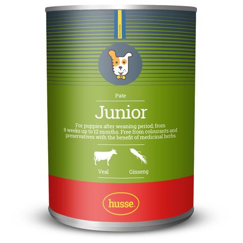 Консервы для щенков Junior pate: 400 гр