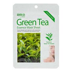 La Miso Green Tea Essence Mask Sheet - Маска с экстрактом зеленого чая