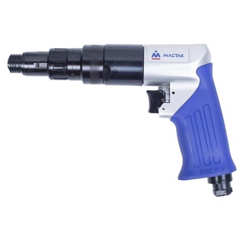 МАСТАК Пневматический шуруповерт 12 Нм, 800 об/мин, пистолетная рукоять