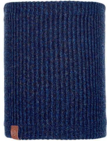 Шарф-труба вязаный с флисом Buff Neckwarmer Knitted Polar Lyne Night Blue