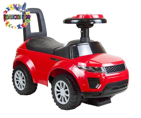 Машинка-каталка Range Rover красный