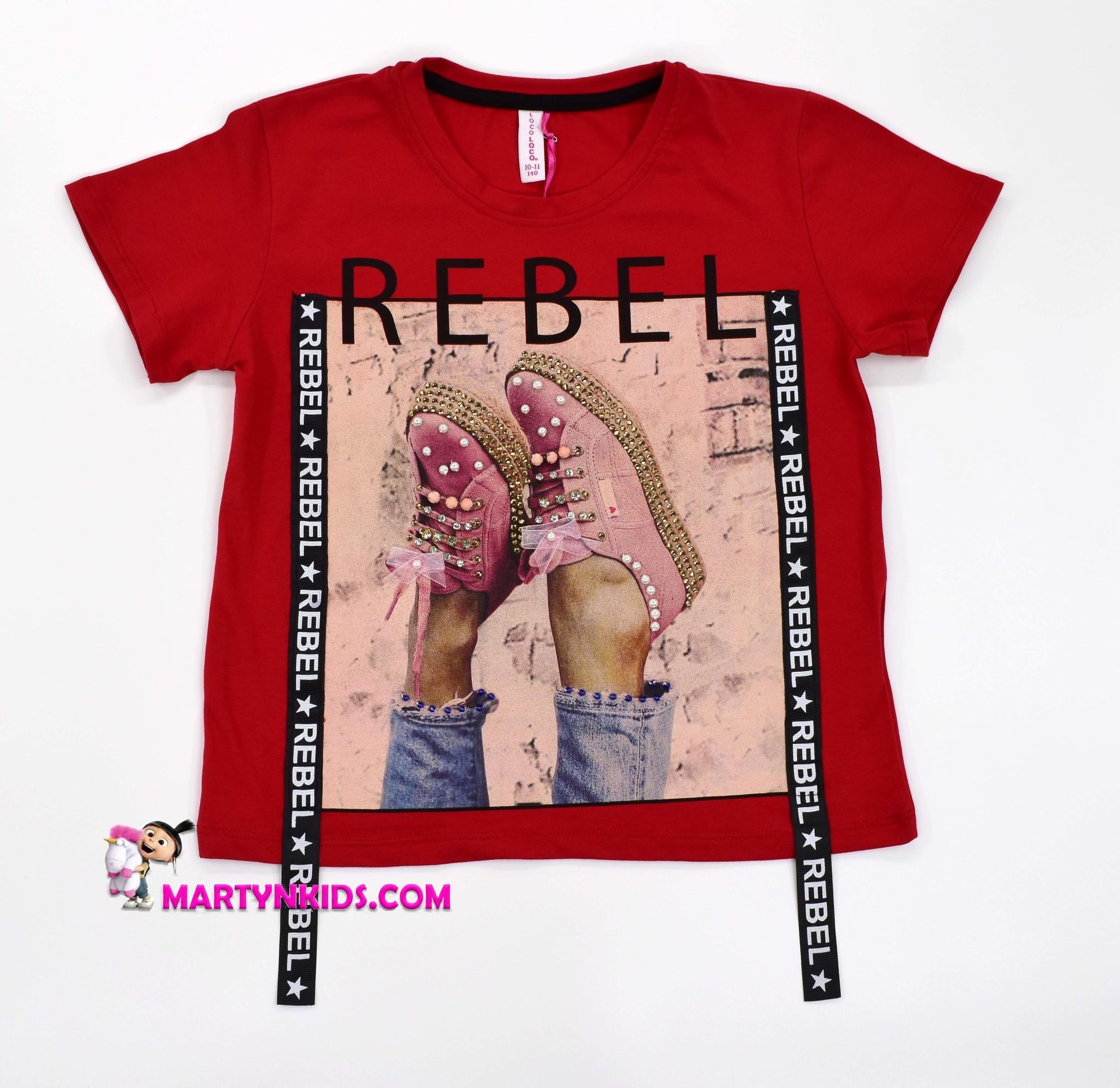 2208 футболка REBEL