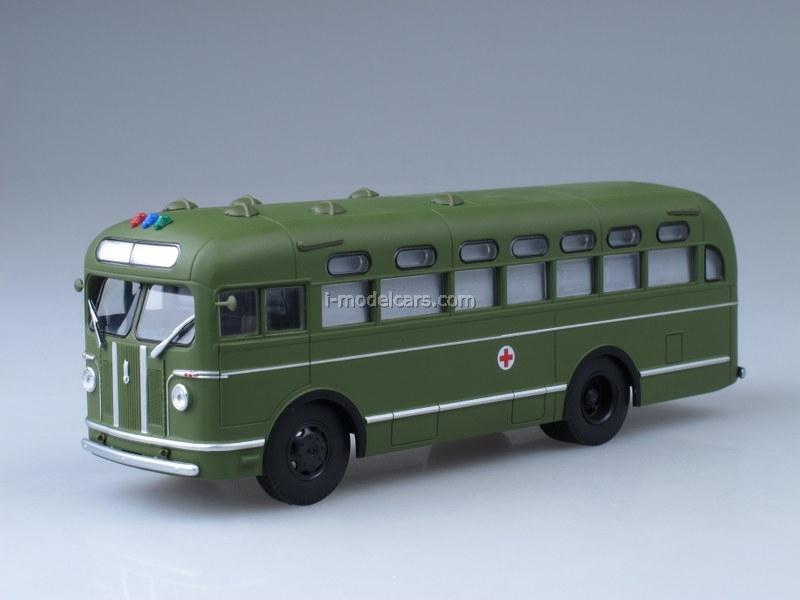 ZIS-155 Sanitary Ambulance Bus 1:43 AutoHistory