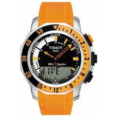 Мужские швейцарские часы Tissot T-Touch Sea-Touch T026.420.17.281.02