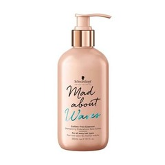 Очищающий безсульфатный крем-шампунь для волнистых волос Schwarzkopf Mad About Waves Sulfate Free Cleanser