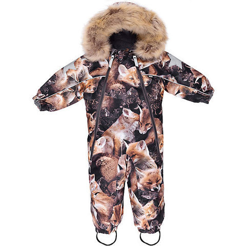 Molo, Комбинезон Pyxis Fur Fox Camo (коричневый)