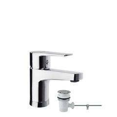 Смеситель для раковины с автоматическим клапаном TITANIUM 1801VA9065
