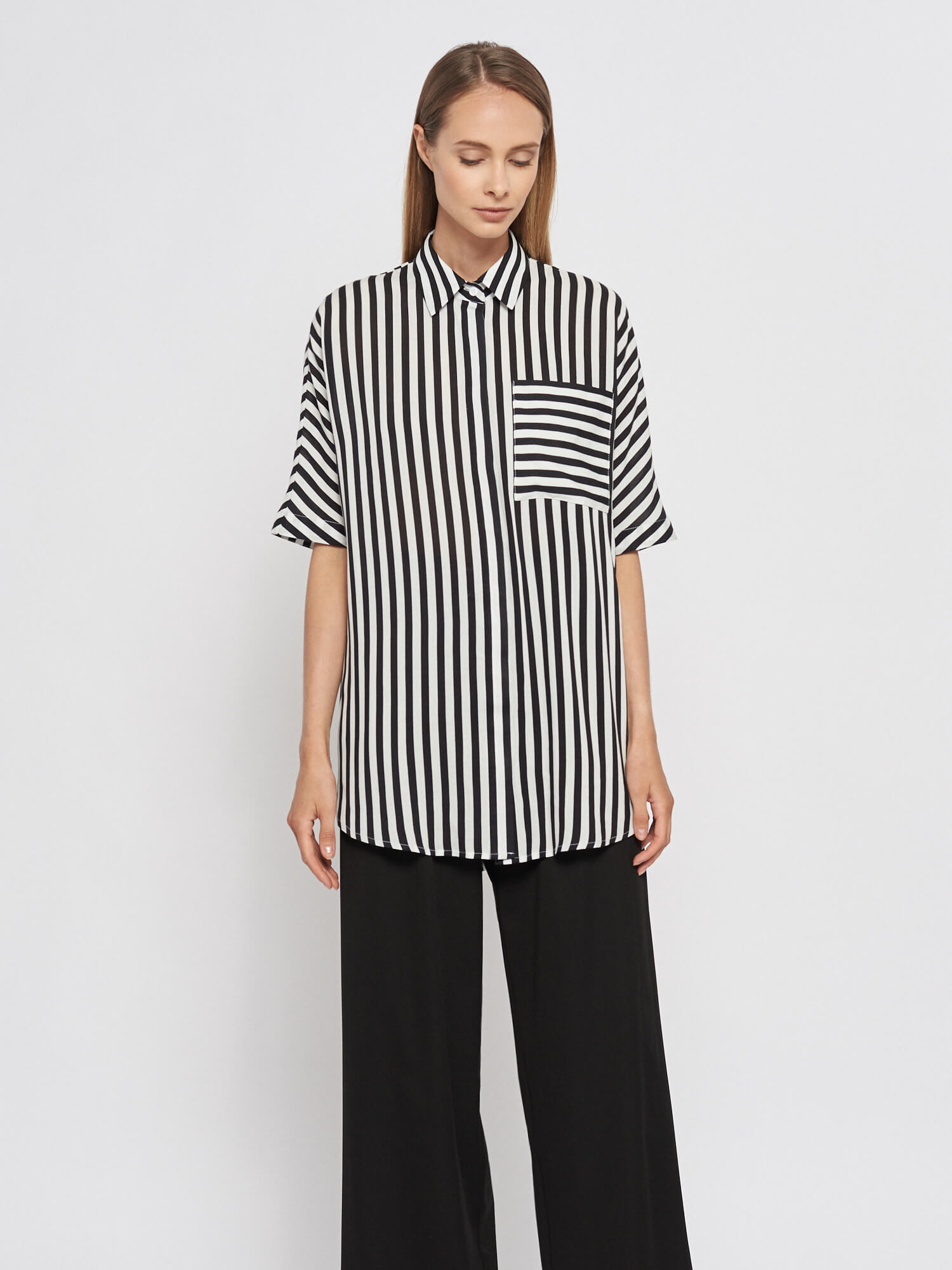 Рубашка Gemma c кольцами на поясе фото