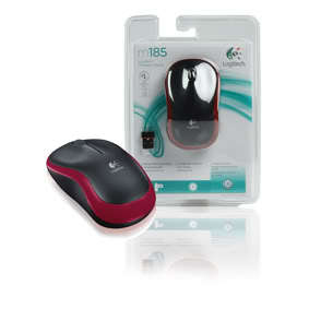 LOGITECH M185 Wireless Red