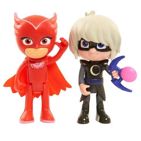 Набор из 2 фигурок Алет (Owlette) и Девочка Луна (Luna Girl) - Герои в Масках,  PJ Masks