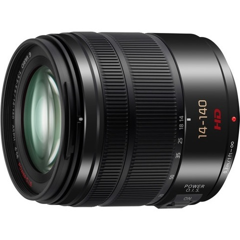 Объектив Panasonic Lumix G Vario 14-140mm f/3.5-5.6 Asph Power OIS H-FS14140-K Black