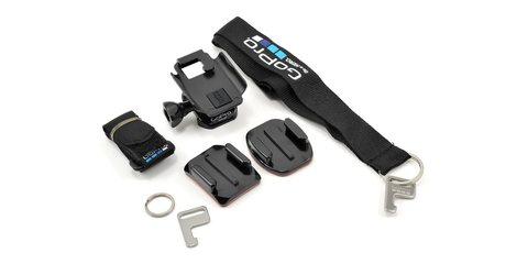 Набор креплений для пульта д/у GoPro Wi-Fi Remote Mounting Kit комплектация