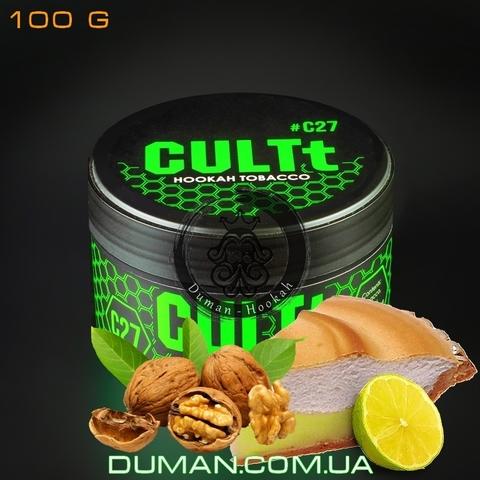 Табак CULTt C27 Lemon-Nut Pie (Культ Лимонно-Ореховый Пирог)