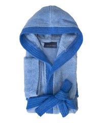 Элитный халат детский махровый Young голубой от Caleffi