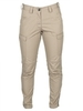 Beige women's military trousers