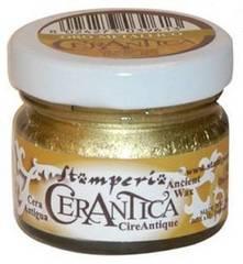 Воск CeraAntica, 20мл, цвет Золотой металлик