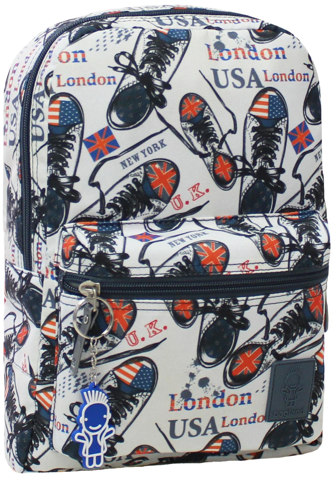 Детские рюкзаки Рюкзак Bagland Молодежный mini 8 л. сублимация (кеды) (00508664) IMG_6114.JPG