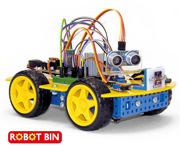 Конструктор ROBOT BIN CLASSIC. Практические занятия по робототехнике. Во всей красе!