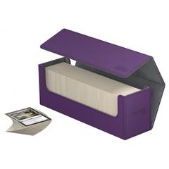 Ultimate Guard - Фиолетовая кожаная коробочка для хранения 400+ карт