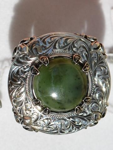Боргезе (кольцо из серебра)