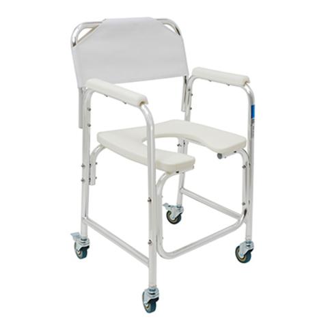 Кресло-туалет на колесах 3в1 WC Delux Mobail