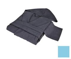 Элитный халат хлопковый Meyzer бирюзовый от Hamam
