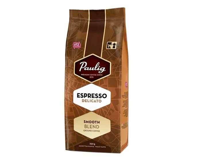 Кофе молотый Paulig Espresso Delicato, 250 г (Паулиг)