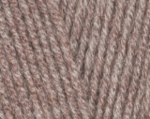 Пряжа Cotton BABY SOFT Alize светло-коричневый меланж240