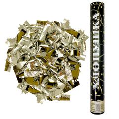 Пневмохлопушка (16''/40 см) Металлизированное конфетти, Золото