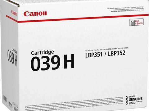 Картридж Canon Cartridge 039H черный (25000 стр) 0288C001
